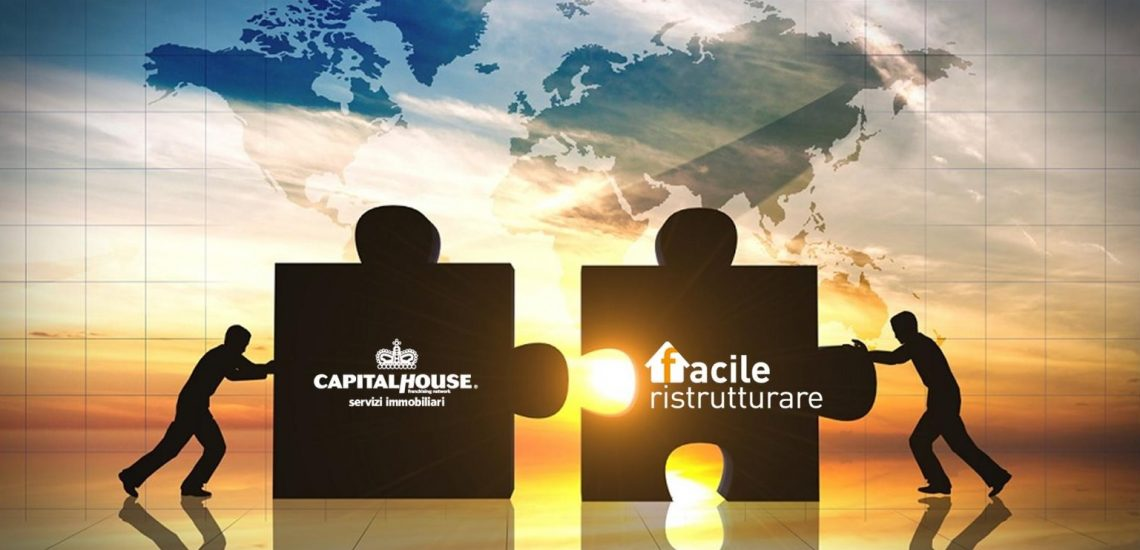 La Partnership tra Capital House Franchising Network e Facile Ristrutturare